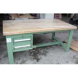 重型操作台/榉木工作台/二抽重型装配台图片