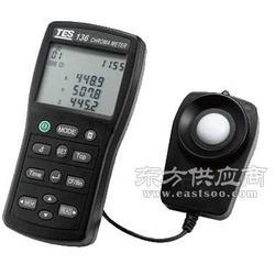 供应台湾泰仕TES-136色温色度计/色温仪图片