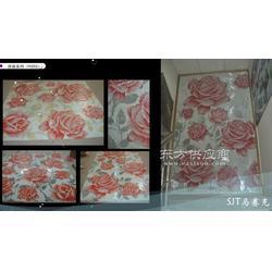 电视背景墙红花马赛克拼图系列图片