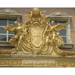 定做玻璃钢西方人物神鹰雕塑出售图片