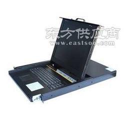 捷尔源JEY-711P 19英寸机架液晶折叠套件 抽拉式 三合一KVM 单口图片
