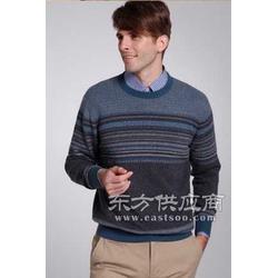 蓝花羊绒衫图片