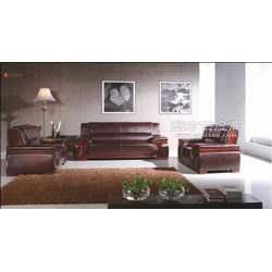 真皮办公沙发丨组合会客沙发丨布艺沙发图片
