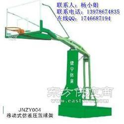 钢化玻璃篮球架图片