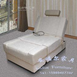 安福尔家具按摩床美容床理疗床实木床图片