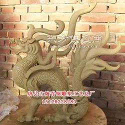 专业动物雕塑定做就在古城青铜雕塑图片