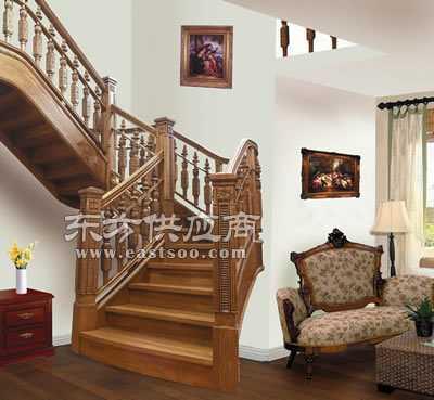 供应名踏实木楼梯之欧式图片