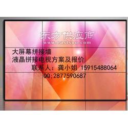 55寸大屏幕拼接屏多功能拼接高清显示画面图片