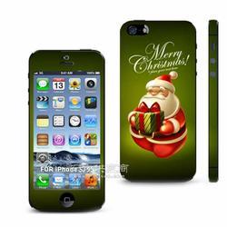 滴胶厂家专业生产手机彩贴Iphone5S 手机外壳保护贴图片