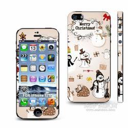 最新Iphone5S手机滴胶贴纸真机实拍进口材料不留残胶图片