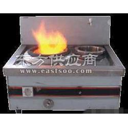 不锈钢单炒单尾炉生物醇油炒炉定做图片