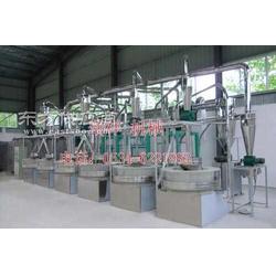 石磨面粉生产线全风运石磨面粉机组图片
