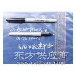 白色记号笔笔尖1.0MM适合深色表面书写图片