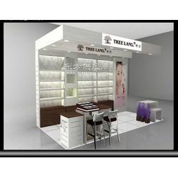 化妆品专卖店化妆品货架定做图片