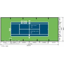供应穗体穗体室外网球场图片