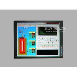 17寸嵌入式机架式触摸功能铝镁合金面板工业显示器图片