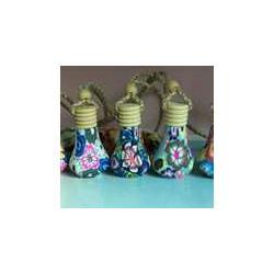 软陶挂件香水瓶-扁瓶图片