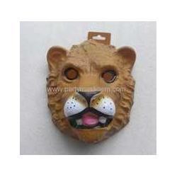 彩印对位吸塑老虎面具 面具定制图片
