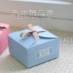 韩国 蓝色方形蛋糕盒 饼干盒 西点盒 月饼盒图片