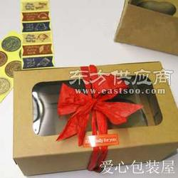 河北区/四枚装牛皮纸杯子蛋糕盒图片