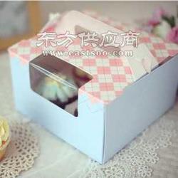 慕斯 马芬/粉蓝西点盒/手提盒/杯子蛋糕盒图片