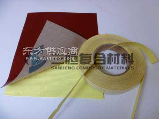 硅橡胶玻纤黏胶带 带背胶硅胶布 硅胶自粘带
