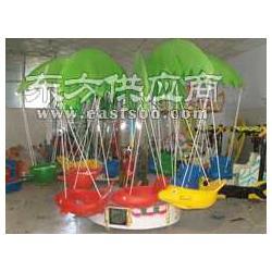 2013新款椰子树旋转飞鱼儿童秋千飞鱼电动飞鱼图片