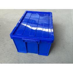 带扣塑料周转箱,带扣消毒餐具箱图片