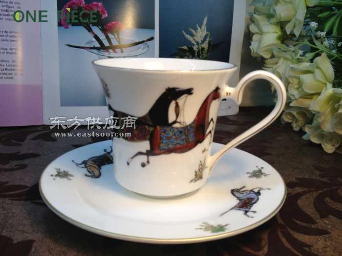 骨瓷咖啡具套装日用陶瓷杯碟套装西餐具套装