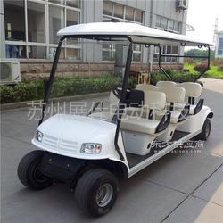 六座高尔夫球车 景区游览观光车 休闲四轮电动代步车图片