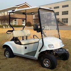 2座高尔夫球车 四轮电动观光车图片