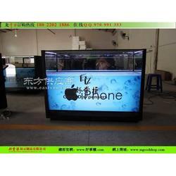 苹果手机玻璃柜专业制作销售图片