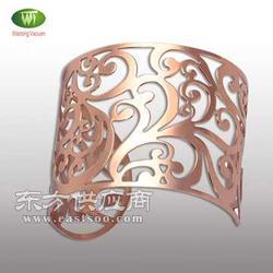 10余年专业不锈钢饰品真空电镀IP玫瑰金加工图片