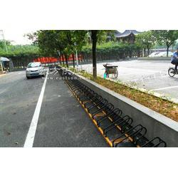 道顺卡位非机动车停车架的运输图片