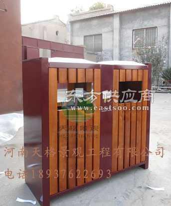 防腐木垃圾桶果皮箱垃圾桶厂家价格