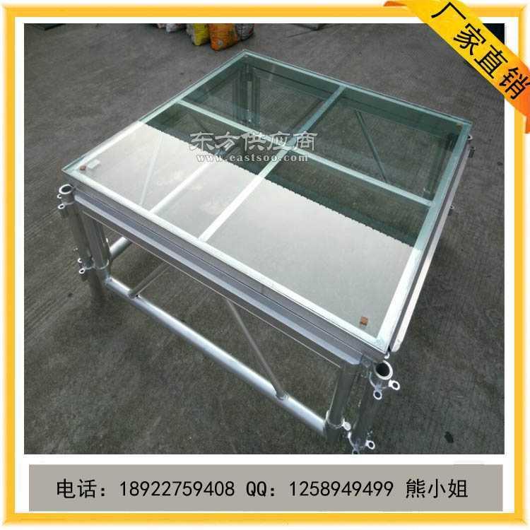 铝合金玻璃舞台 透明舞台 拼装舞台 舞台