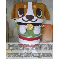 供应卡通服装广告道具服装qy8千亿国际模型罐头狗图片