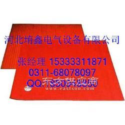 橡胶绝缘垫-绝缘垫块-3MM红色防滑绝缘垫多钱一米图片