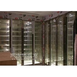 金属工艺品西餐厅玫瑰金不锈钢酒柜_不锈钢酒柜_广尔图片