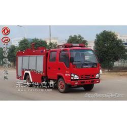 国四排放庆铃3.5吨水罐消防车图片