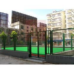围墙防护网_河北镁洋公司_绿色围墙防护网厂家电话图片