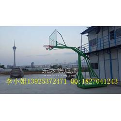 移动式篮球生产厂家 横栏室内外篮球架安装图片