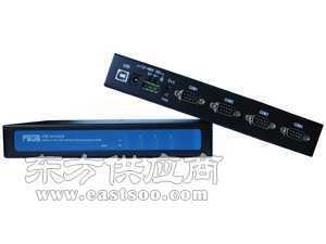 USB转4口RS-485/422带2KV光电隔离转换器