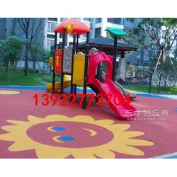 供应幼儿园EPDM塑胶地垫 小区户外橡胶地垫图片