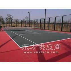网球场地标准尺寸图/网球场施工方案/丙烯酸网球场图片