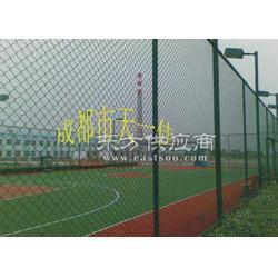 蓝球场围网/羽毛球场围网/球场围栏施工图片