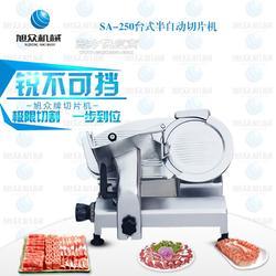台式半自动切片机羊肉卷切片机火锅店专用切片机图片
