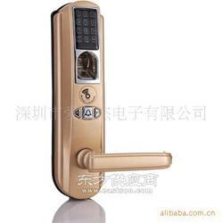 优惠销售指纹密码锁 触摸屏密码锁 图自带音乐门铃图片
