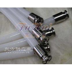 高纯度铂金硫化医用硅胶管可用于完全真空输送图片