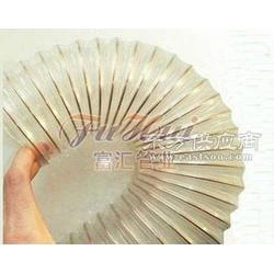 PU耐磨钢丝管木工木屑吸尘管图片